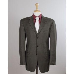 #JosephAbboud 40L Green Nailhead 3B Sport Coat 449